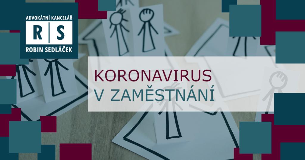 koronavirus zaměstnavatel zaměstnanec náhrada mzdy