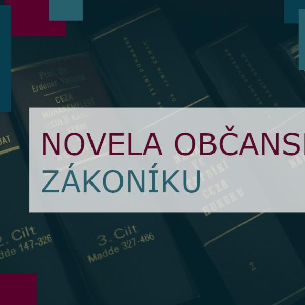 novela občanský zákoník nájem bytu předkupní právo spoluvlastníka